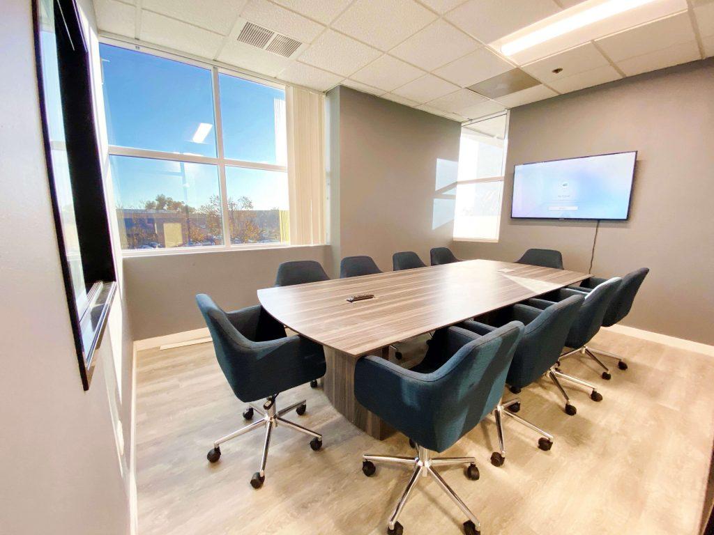 Circle Hub conference room