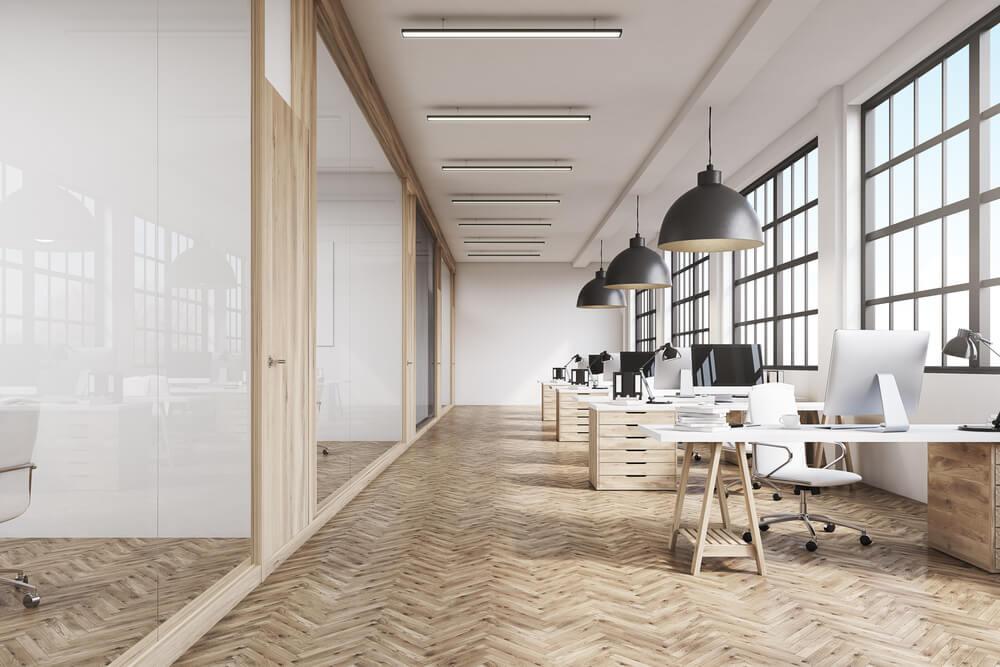 Minimal office space
