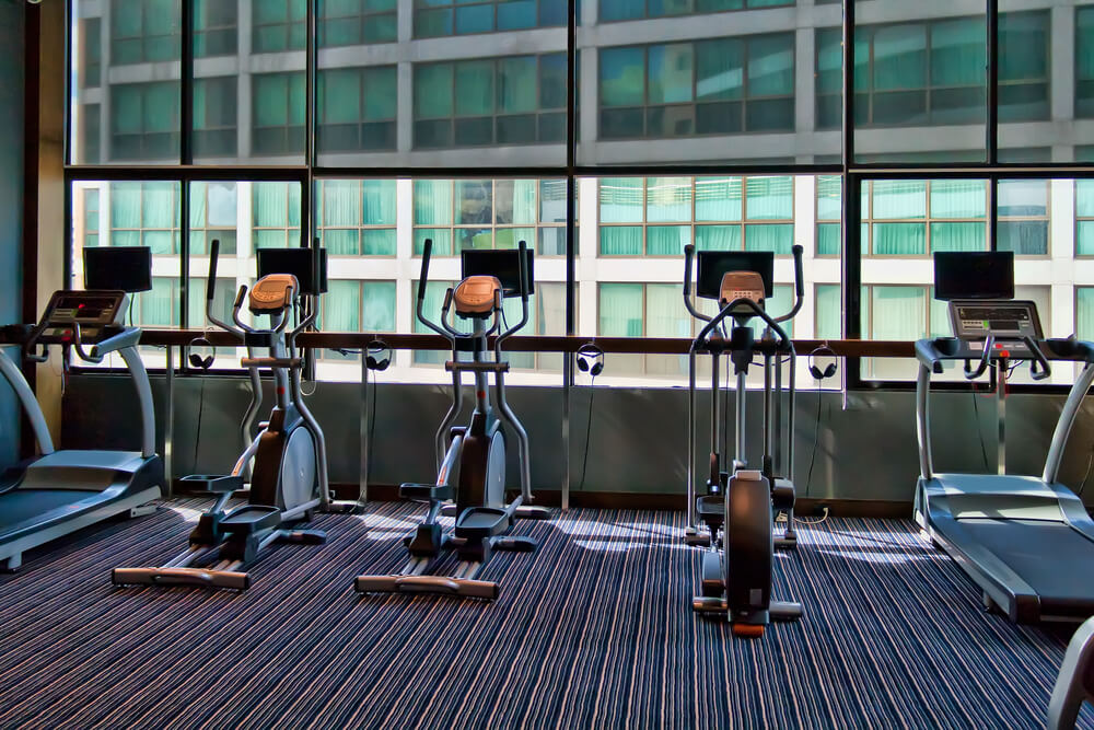 Office gym for remote workers in 2021