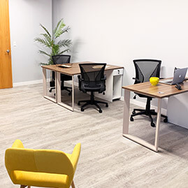 Shared Coworking Spaces